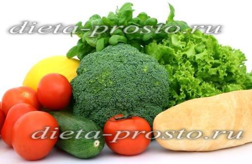 меню при повышенном холестерине у женщин меню