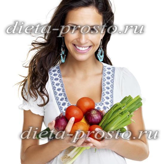 Овощная диета на неделю минус 10 кг за 7 дней