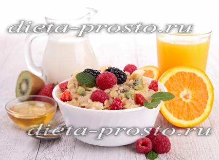 питаться снижения холестерина