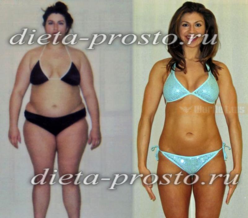 отзывы фото похудевших на правильном питании