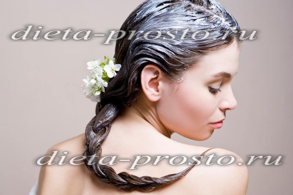 Восстанавливающая маска для волос в домашних условиях для блондинок