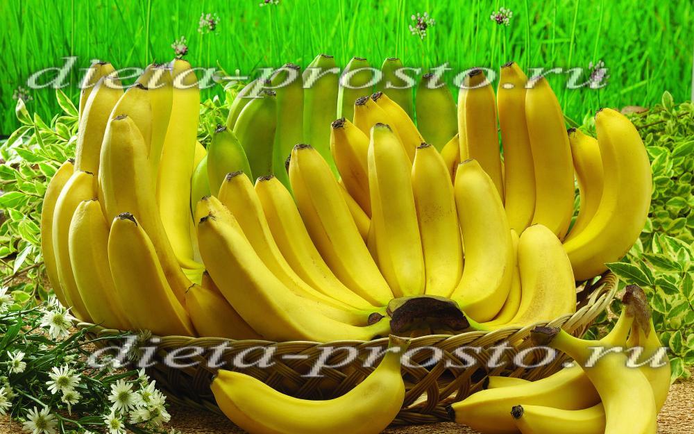 чай банана для похудения