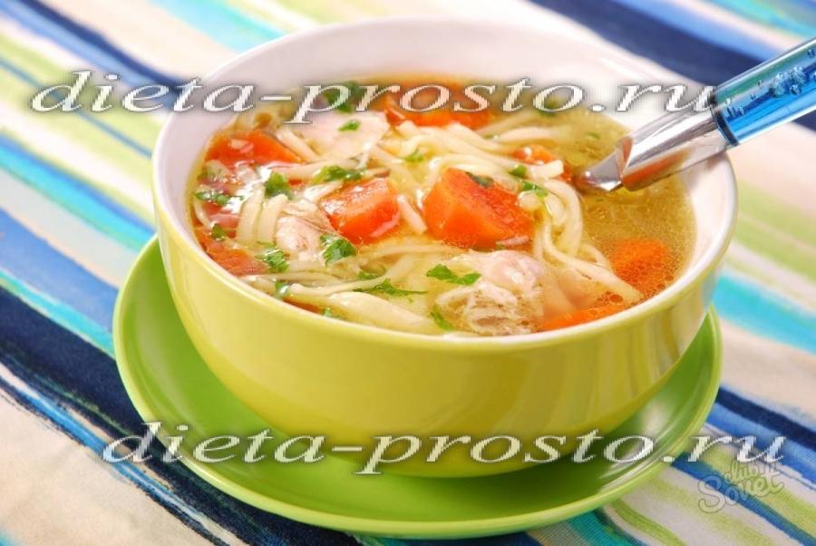 Супы для похудения которые сжигают жир рецепты