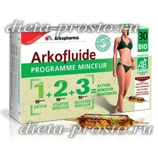 аркофлюид программа похудения