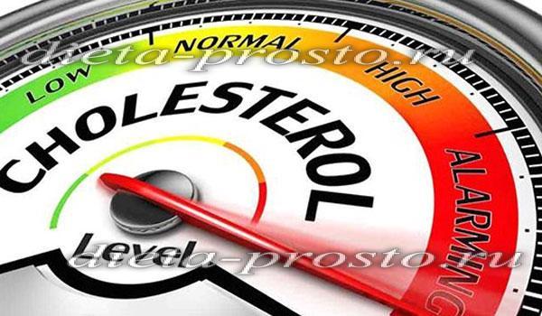 меню при высоком холестерине на каждый день