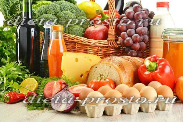 диета при холестерине при повышенном меню