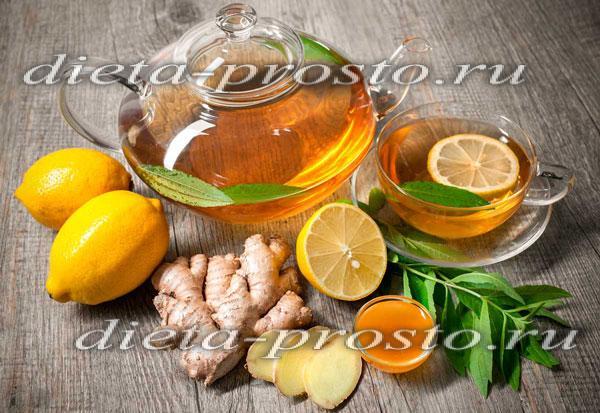 Смесь имбирь мед лимон рецепт похудения