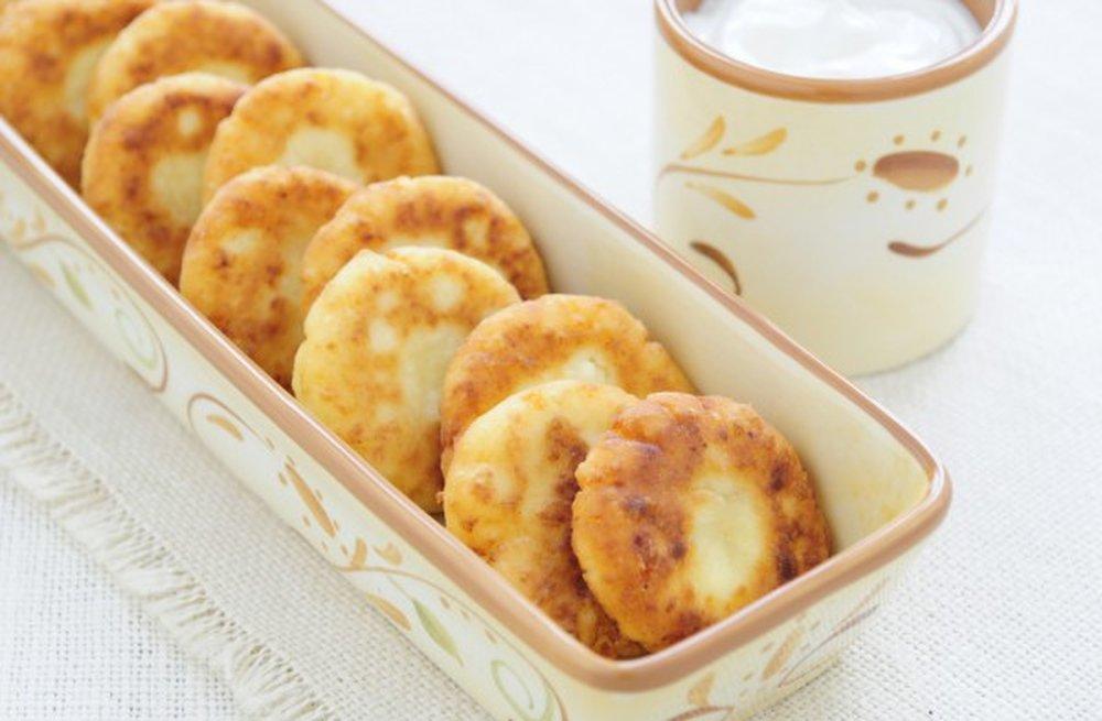 Сырники 200 грамм творога рецепт пошаговый с фото