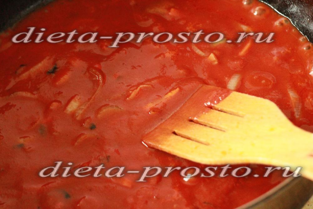 рецепт котлет в соусе из муки