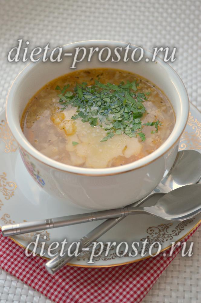Рецепты - Диетический суп в домашних условиях c фото
