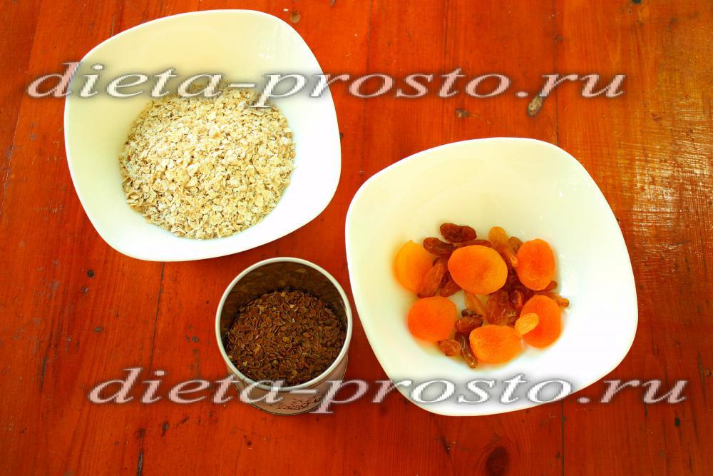Низкокалорийные каши на завтрак рецепты