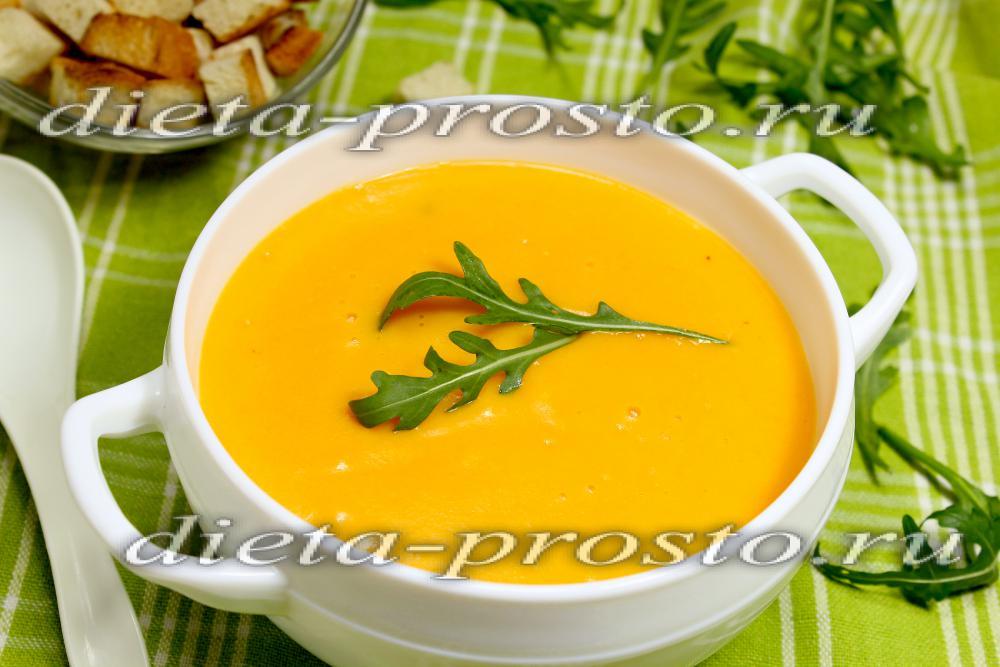 суп постный с брокколи и другими овощами рецепт