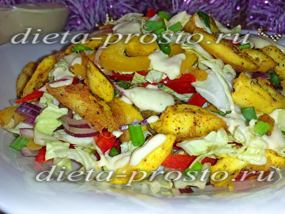 Диетический салат из креветок рецепты 129