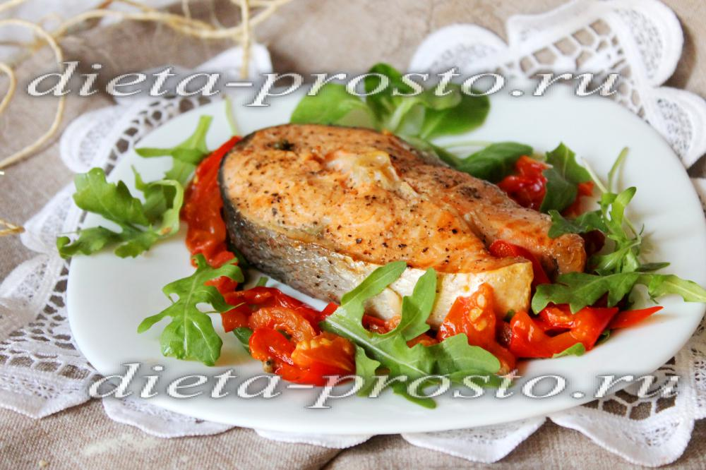 Пирог с лососем и картошкой из слоеного теста рецепт