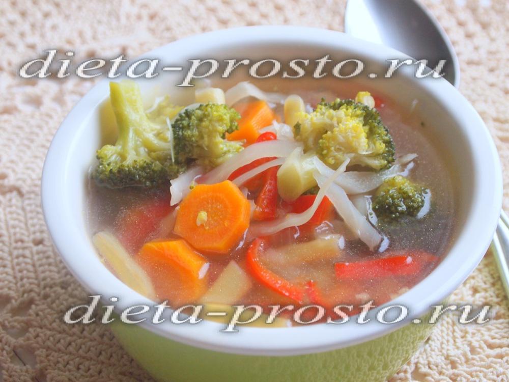 Диета дюкана атака рецепты супов