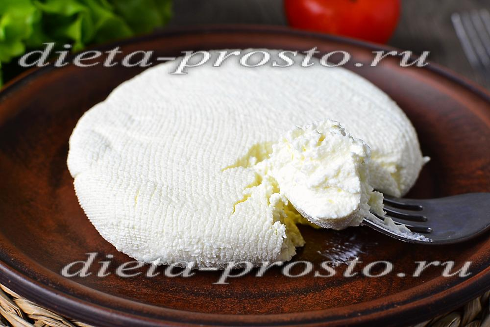 Сыр из замороженного кефира в домашних условиях рецепт