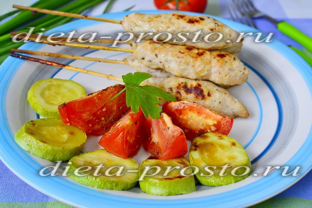 Куриные люля мангале рецепт с фото