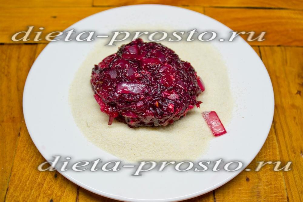 Вкусные свекольные котлеты рецепт с пошагово