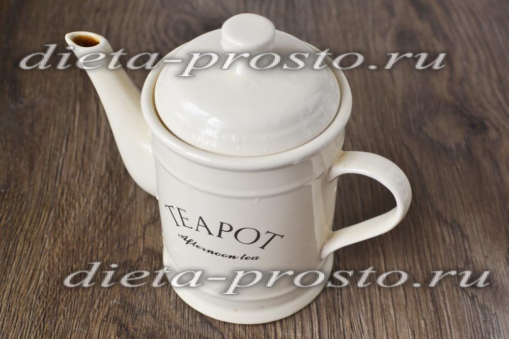 чай мятой для похудения отзывы