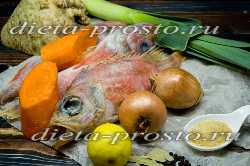 Заливное из морского окуня рецепт с фото
