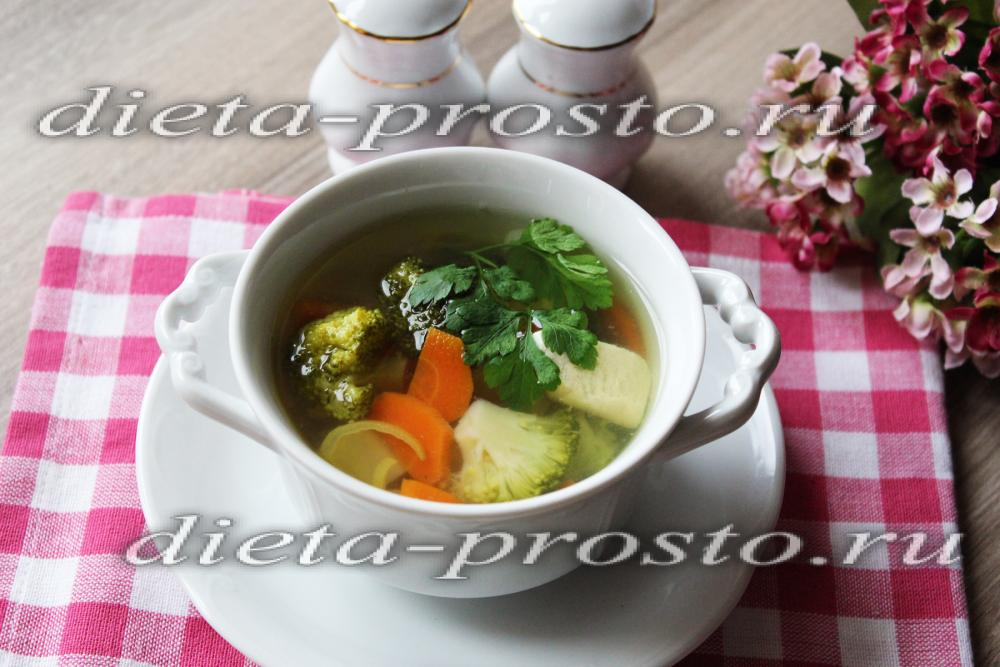 Диетическиеы крем супов
