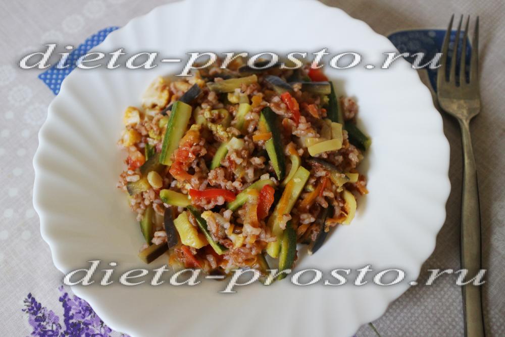 Рис с фруктами рецепт пошагово