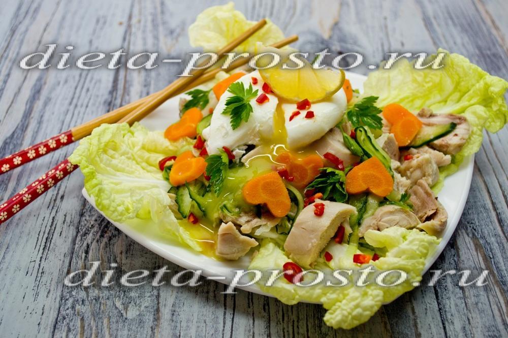 салат с морепродуктами рецепт в домашних условиях