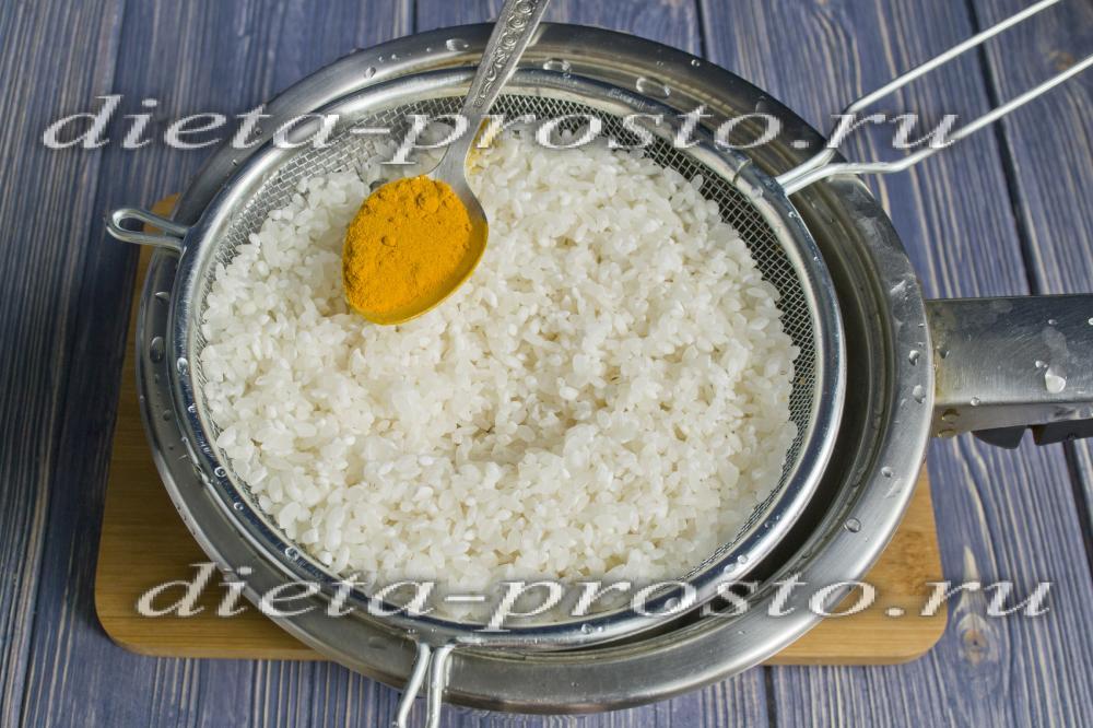 рис как готовят