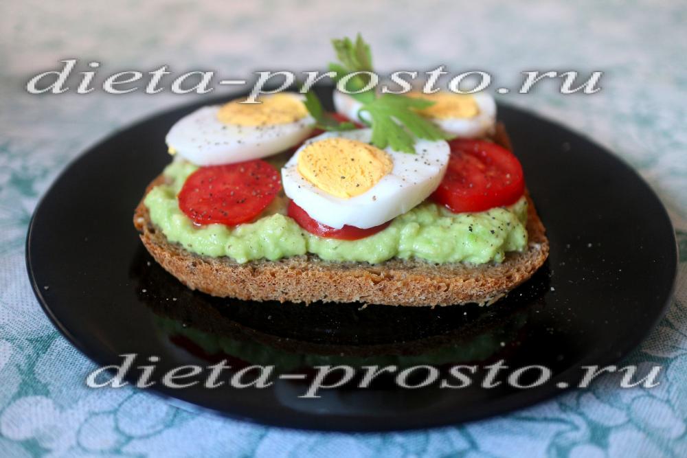 авокадо с яйцом в духовке рецепт