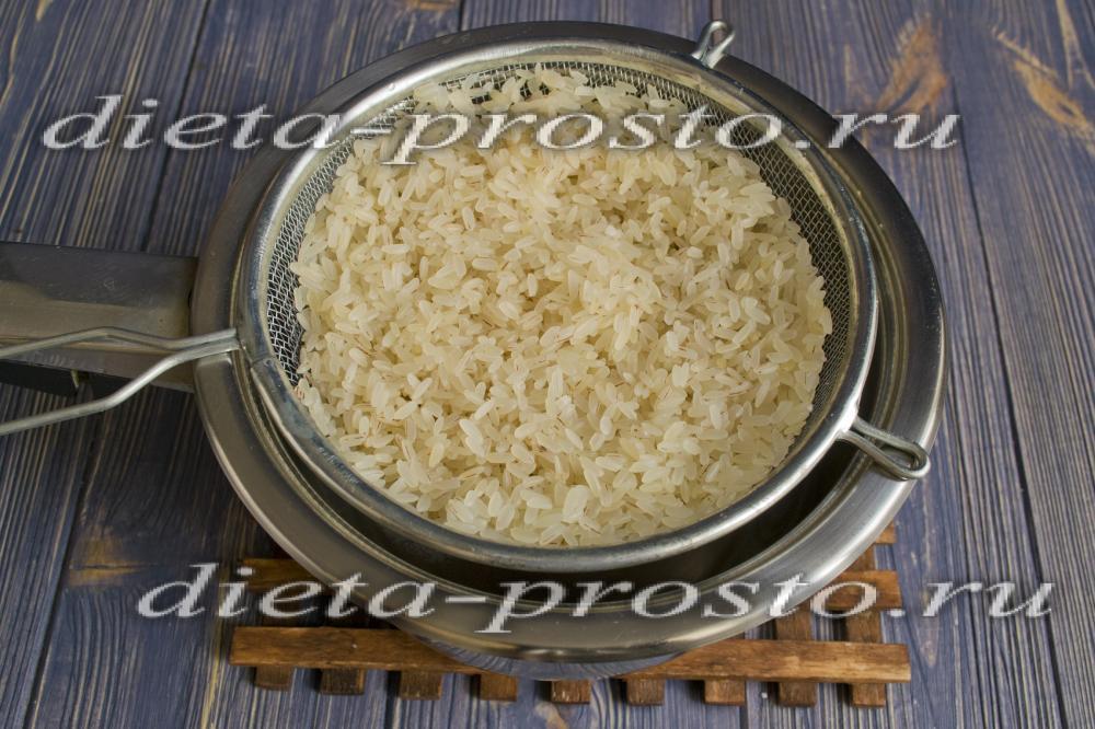Сварить рис рассыпчатый рецепт с пошагово