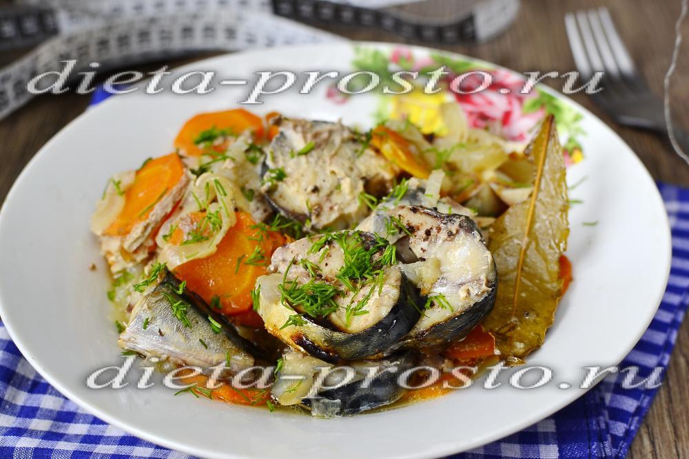 Рыба в духовке  97 рецептов с фото Как приготовить рыбу