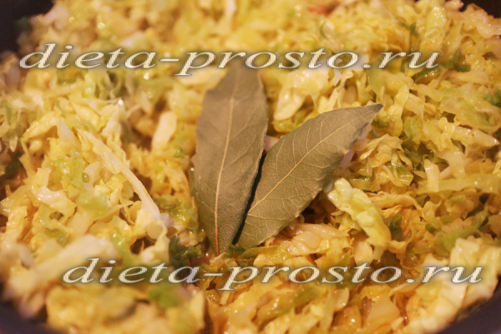 рецепт постного супа с грибами и капустой