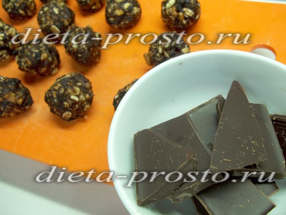 Как сделать конфеты из чернослива и грецких орехов