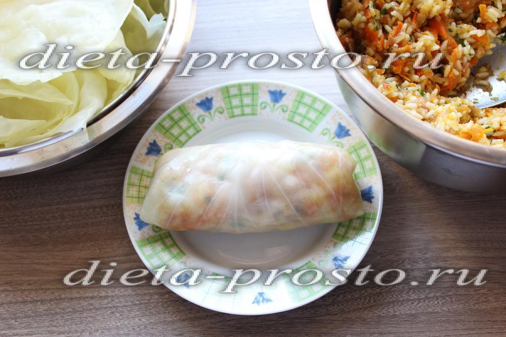Голубцы из индейки рецепт пошагово с фото