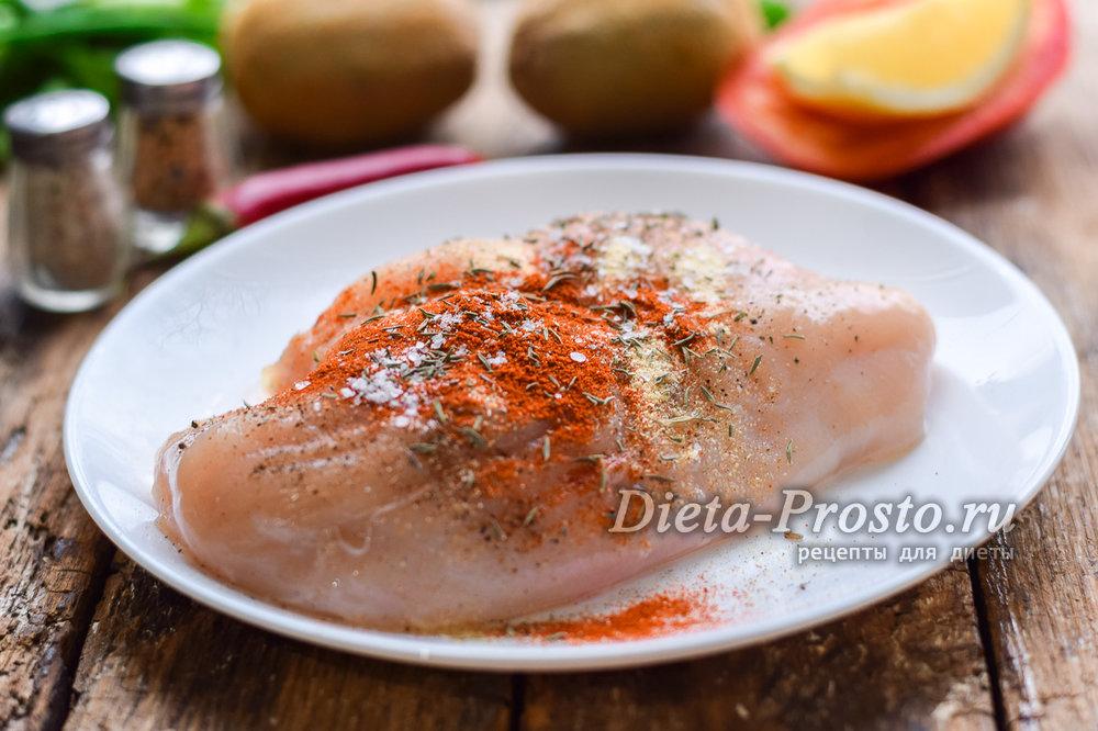 Рецепт сочного куриного филе на сковороде