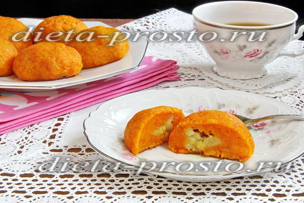 Постный рецепт морковных котлет без манки