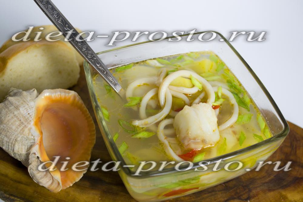 рецепты японских супов из морепродуктов с фото