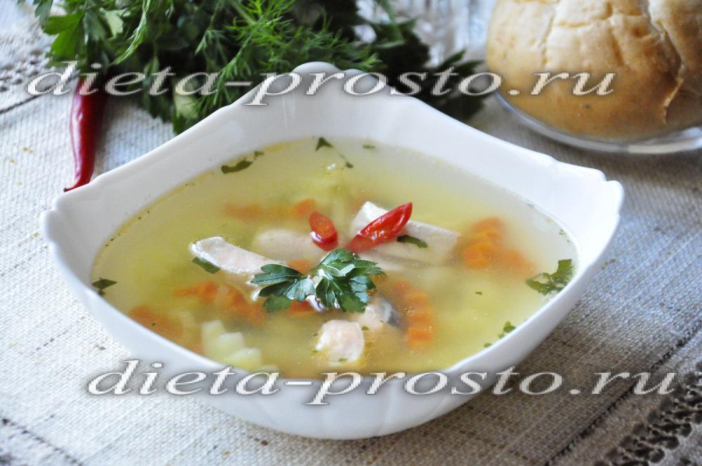 Как варить рыбный суп из лосося