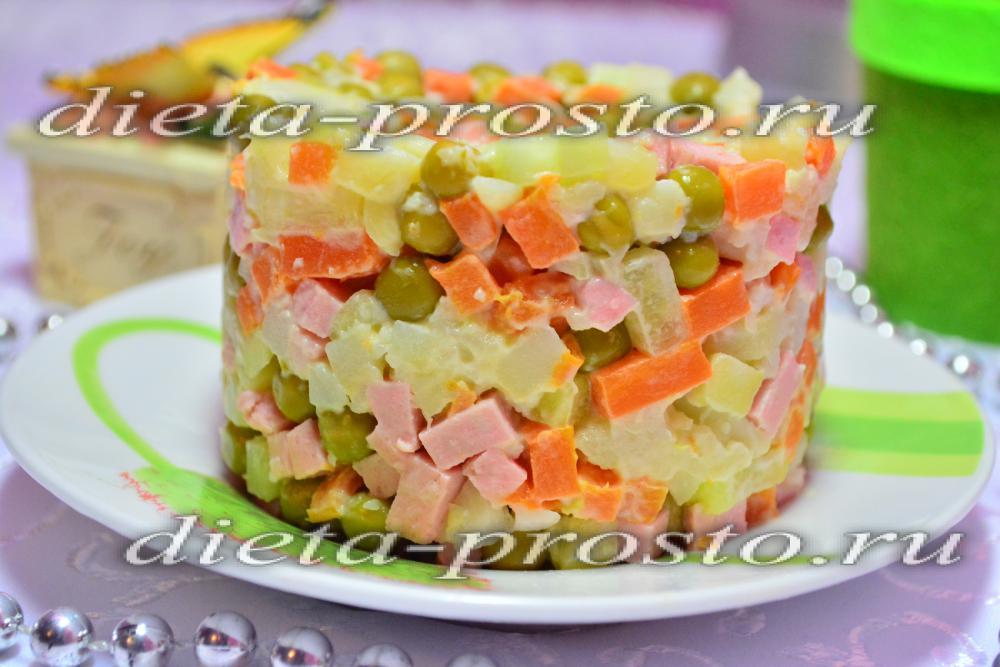 Рецепты салатов с фото с маслом
