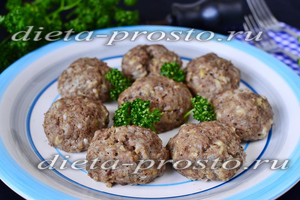 диетические котлеты из говядины рецепт