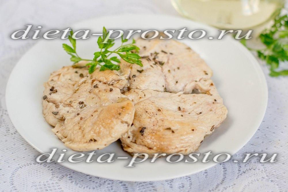 Диетическое блюда из куриного филе рецепты