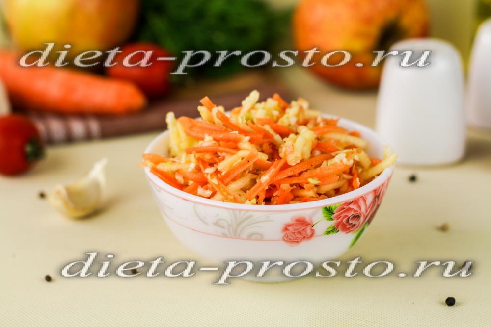 простой салат из капусты с уксусом рецепт