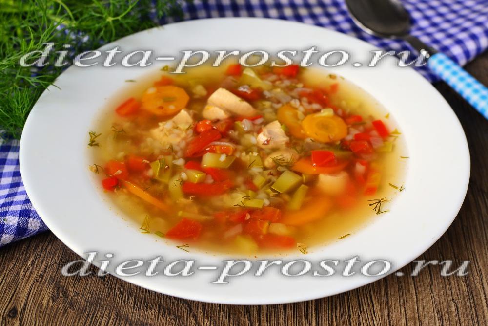 Постный суп рецепт без обжарки