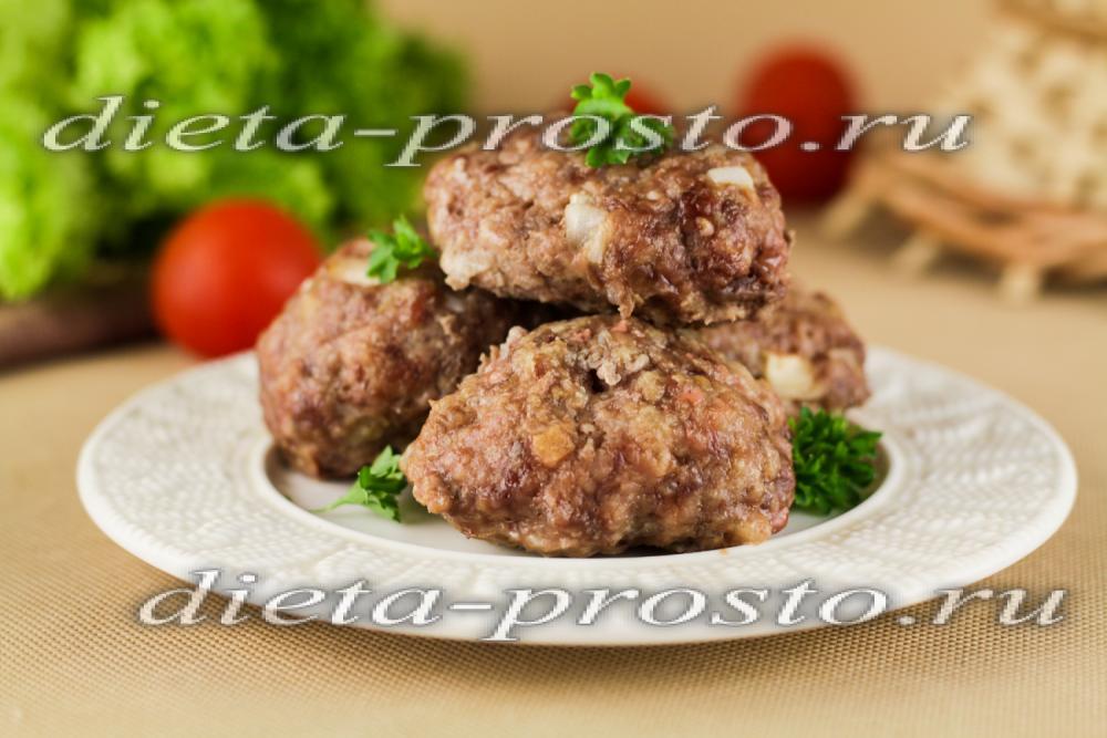 диетические котлеты из хека в духовке рецепт с фото