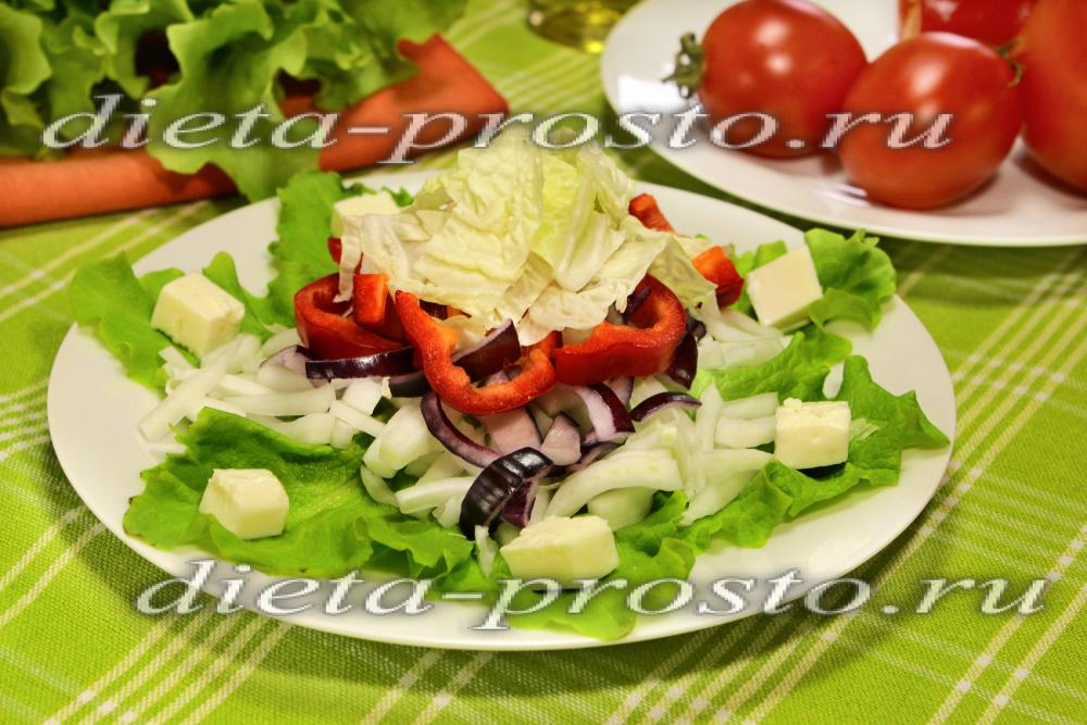 Диетические рецепты из овощей и фруктов