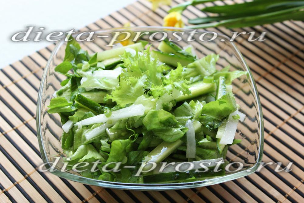 Салат из дайкона с огурцом рецепты с