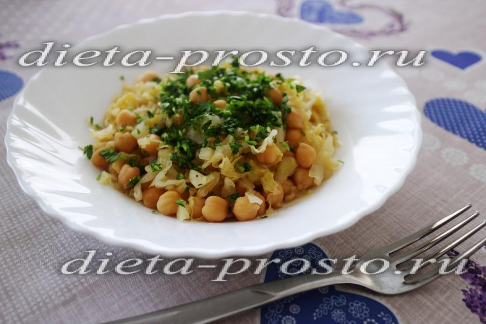 рецепты из белокочанной капусты диетические рецепты