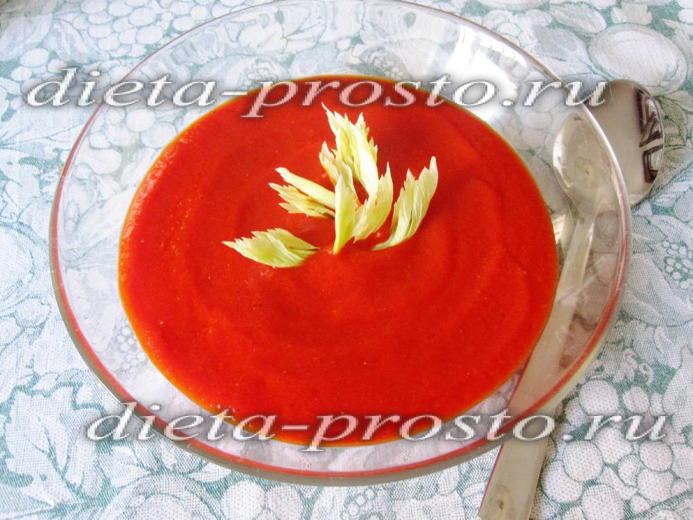 суп пюре из овощей рецепты приготовления диетические