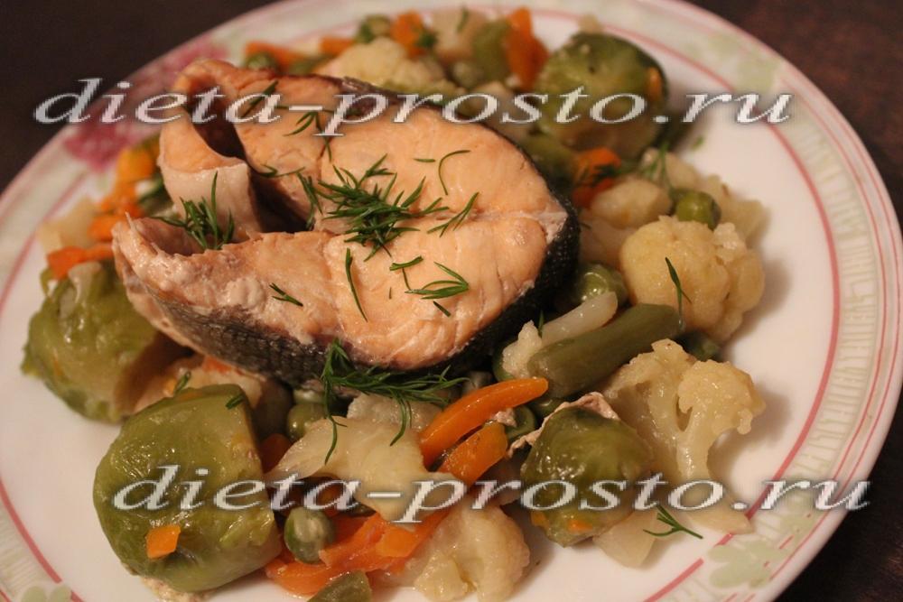 Горбуша при диете рецепты