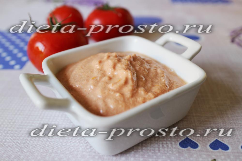 рецепты диетических соусов фото